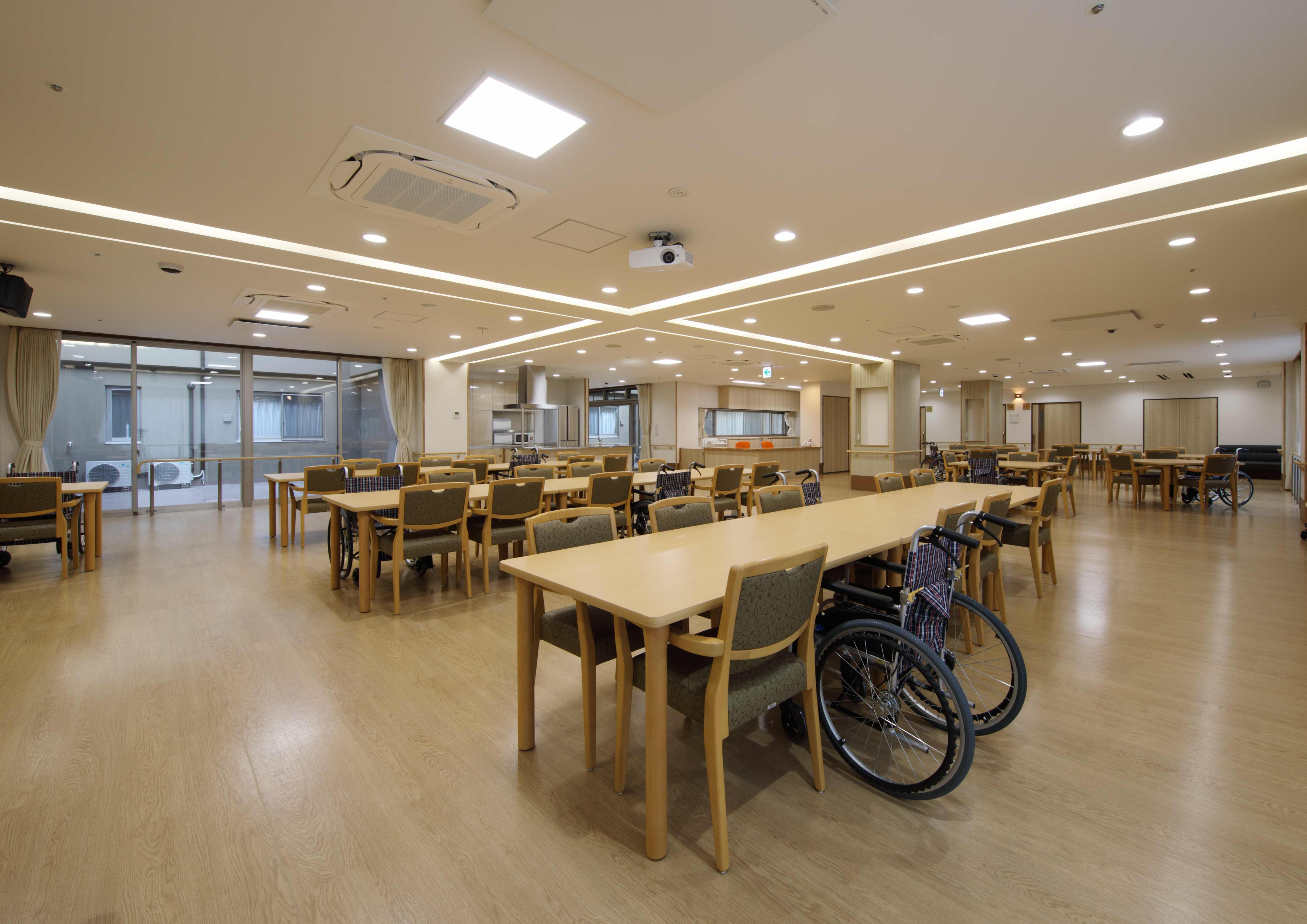 09.1階 食堂・機能訓練室